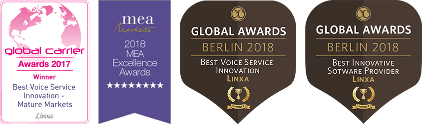 Linxa Global Voice and Carrier Community Awards